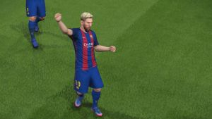 Messi PSG Barcelona PES 2017