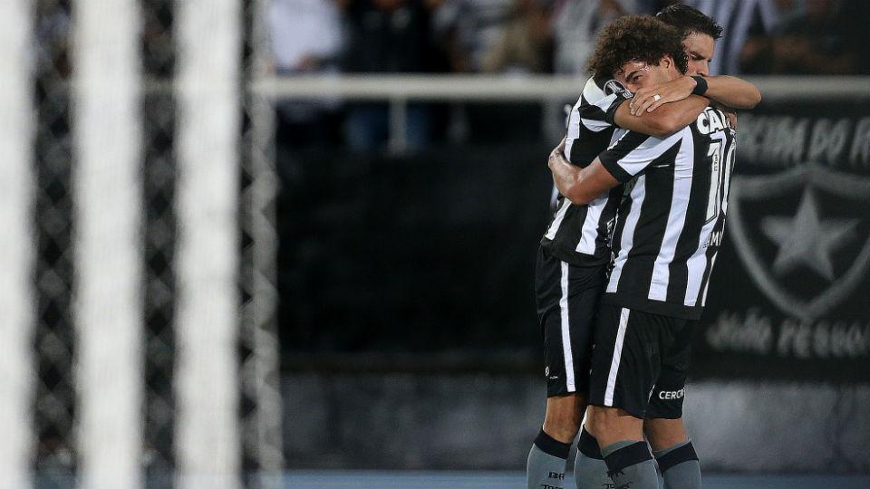 Botafogo classificação Libertadores 2017 Pimpão Camilo