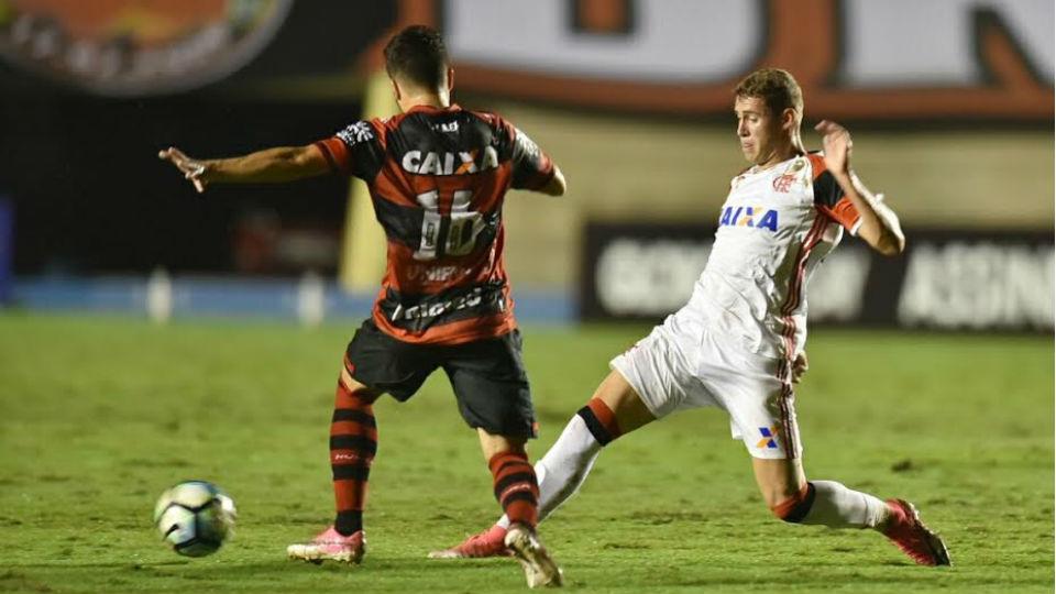 Matheus Sávio Flamengo 2017
