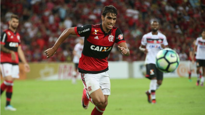 Lucas Paquetá Flamengo Maracanã 2017