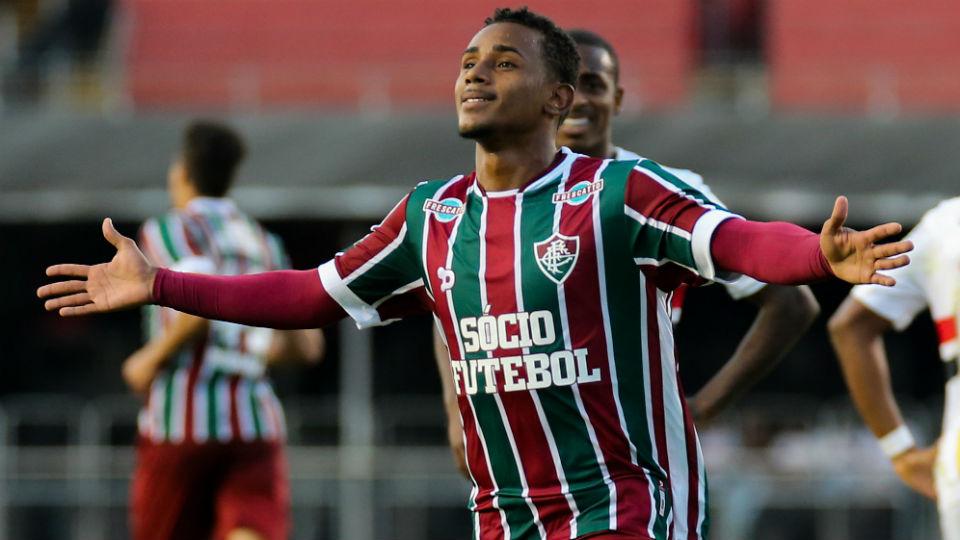 Wendel Fluminense gol Morumbi São Paulo