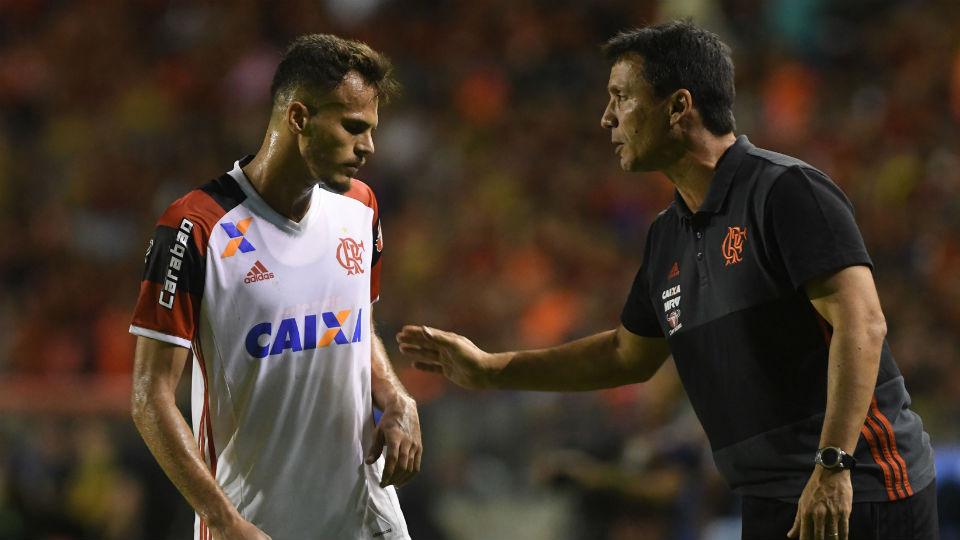 Zé Ricardo Renê Flamengo Sport 2017
