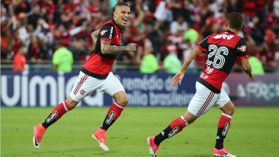 Guerrero São Paulo Flamengo Ilha do Urubu 2017