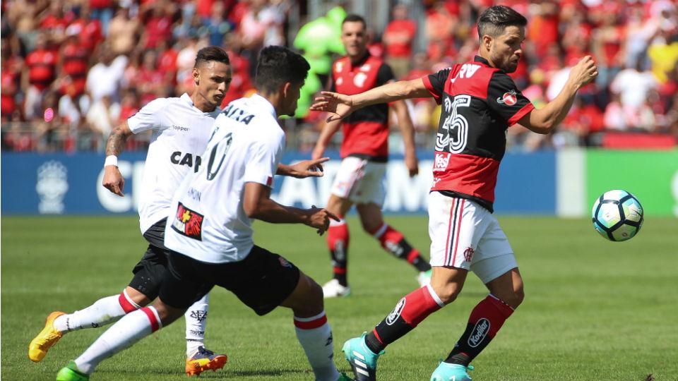 Diego Flamengo Vitória 2017