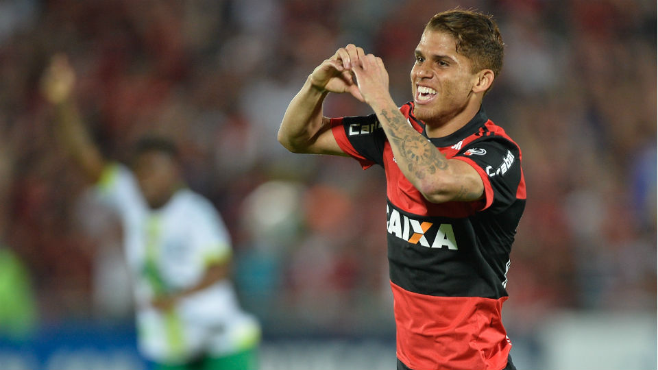 Cuellar Flamengo Chapecoense gol 2017