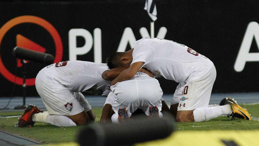 Fluminense Botafogo Engenhão Matheus Alessandro