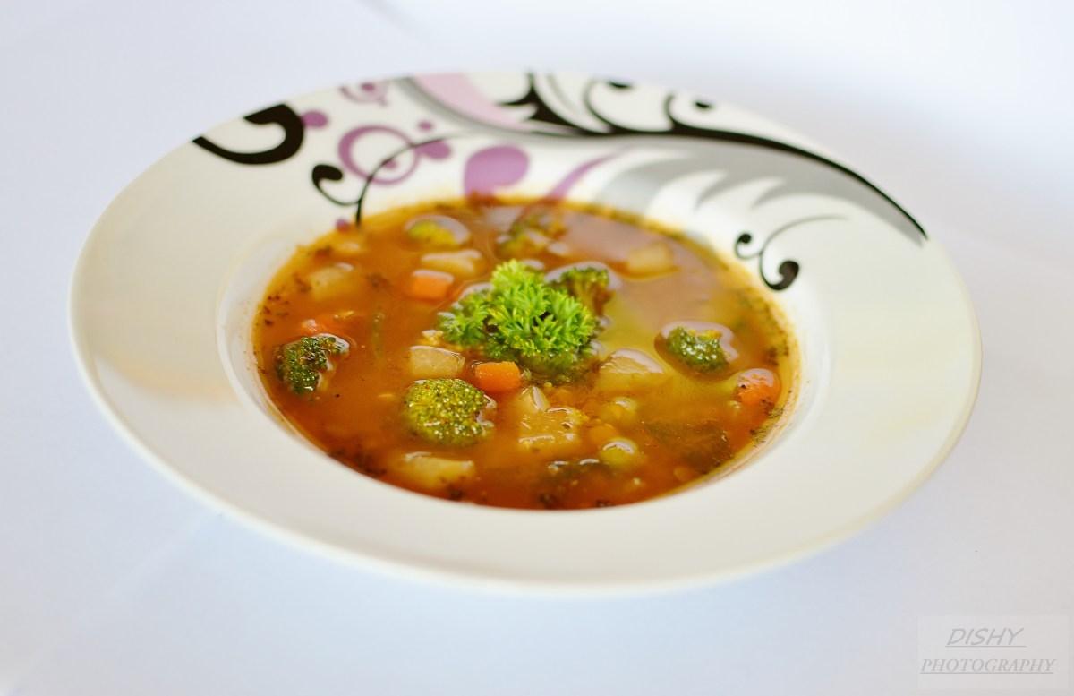 Šošovicovo - brokolicová polievka