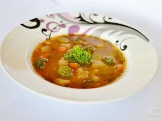 šošovicovo- brokolicová polievka