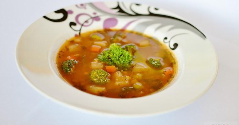 Šošovicovo – brokolicová polievka