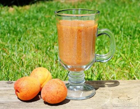 Letné smoothie – marhuľa, hurmikaki