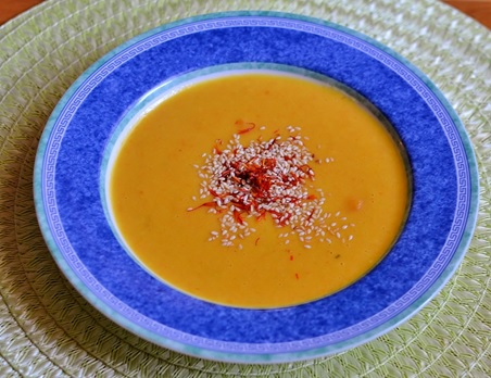 Mrkvovo – zázvorová polievka