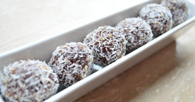 Kokosové RAW VEGAN guľky