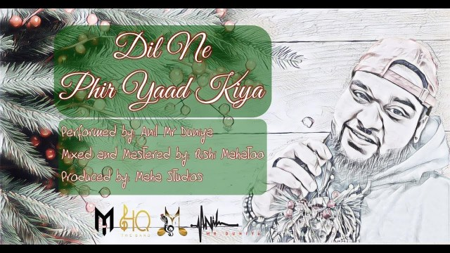 Anil Mr Duniya - Dil Ne Phir Yaad Kiya