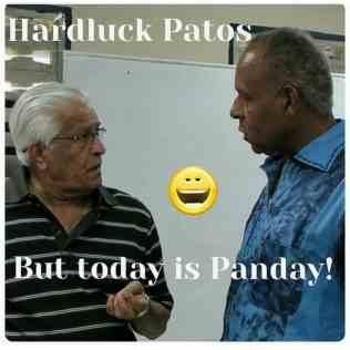 Basde Panday And Patrick Manning