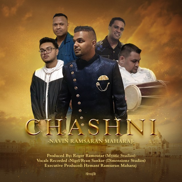 Chashni By Navin Ramsaran Maharaj (2019 Bollywood Cover)