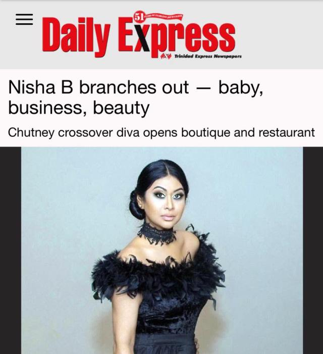 Chutney Diva Nisha B Branches Out And Opens A Boutique And Restaurant