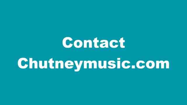 Chutneymusic.com Contact