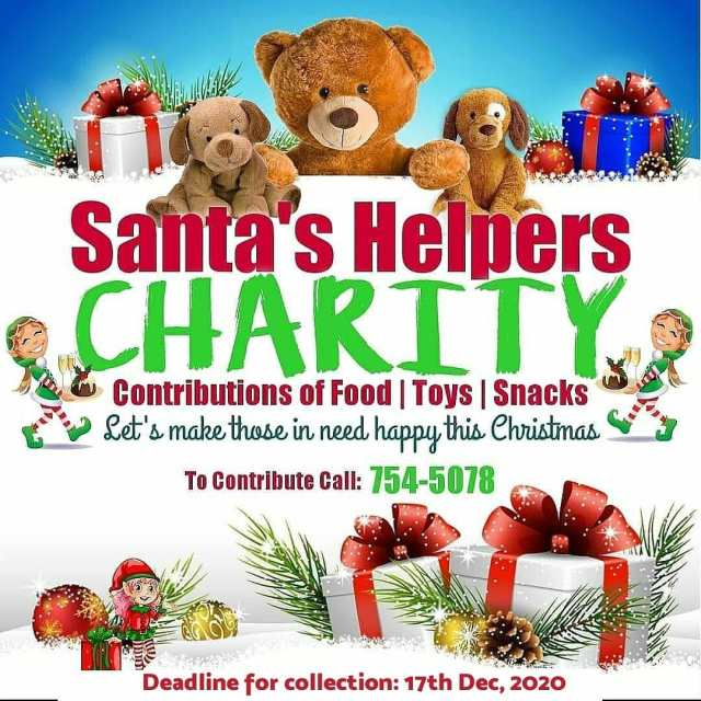 Donate to Santa's Helpers Charity 2020