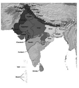 Figure 3.Classi cation of North Indian