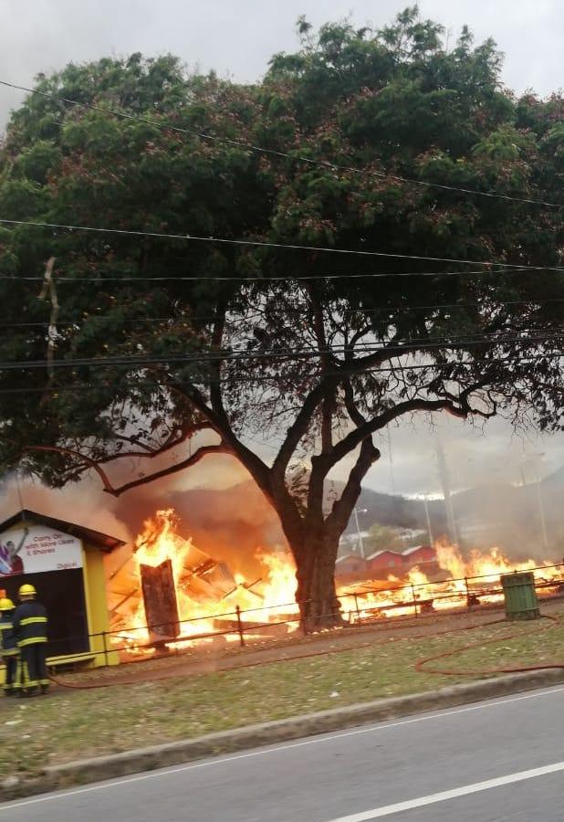 Fire Queens Park