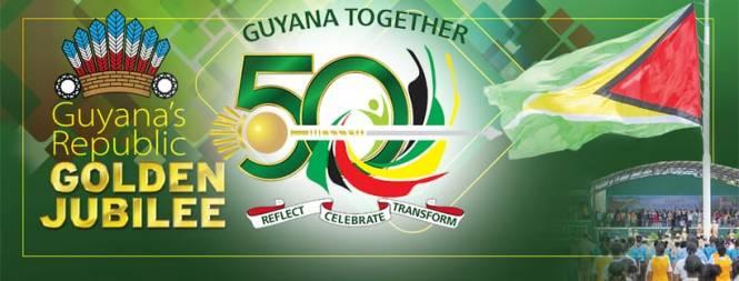 Guyana Republic Golden Jubilee