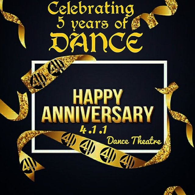 Happy 5th Anniversary 411 Dance Theatre