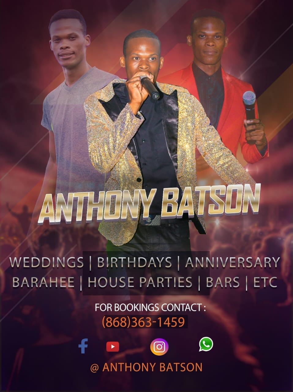 Happy Birthday Anthony Batson From Chutneymusic.com