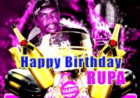 Happy Birthday Rupa By Kenneth Salick