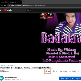 Hurricane Hemlata Blows Past 100000 Views With Badalaa