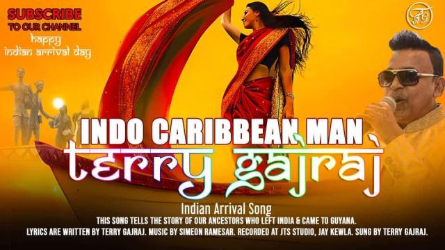 Indo Caribbean Man By Terry Gajraj