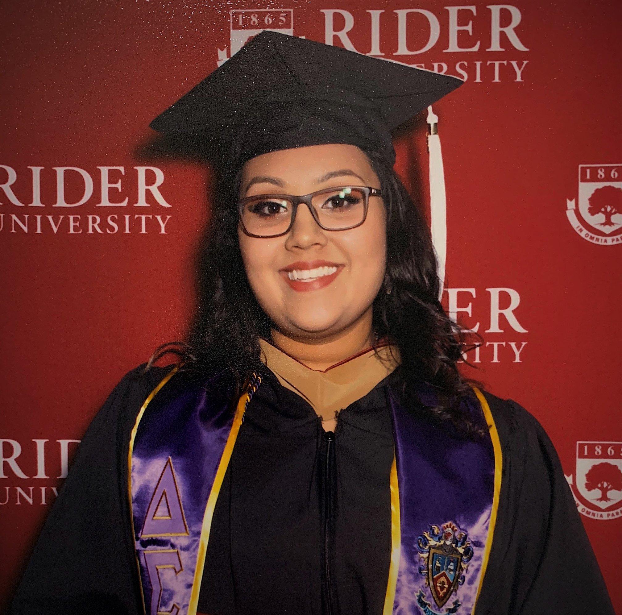 Liana Beharrysingh Gets Her Masters In Accountancy