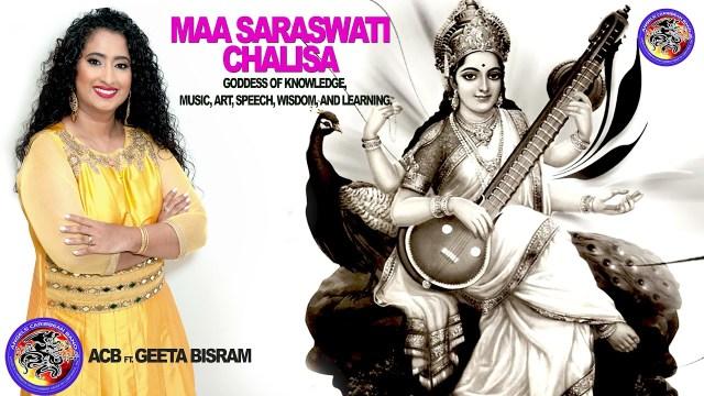 Maa Saraswati Chalisa Bhajan - Geeta Bisram & Angels Caribbean Band
