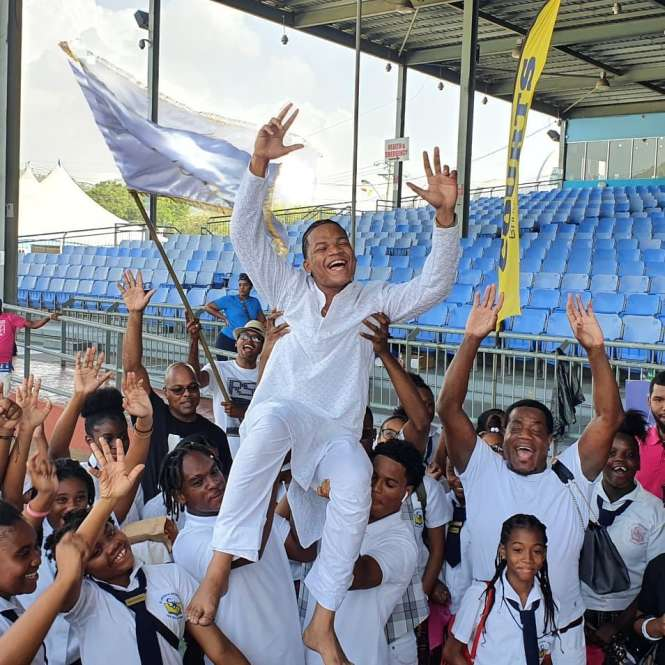 Paris Coutain wins the 2020 Secondary Schools Intellectual National Carnival Chutney Soca Monarch Competition