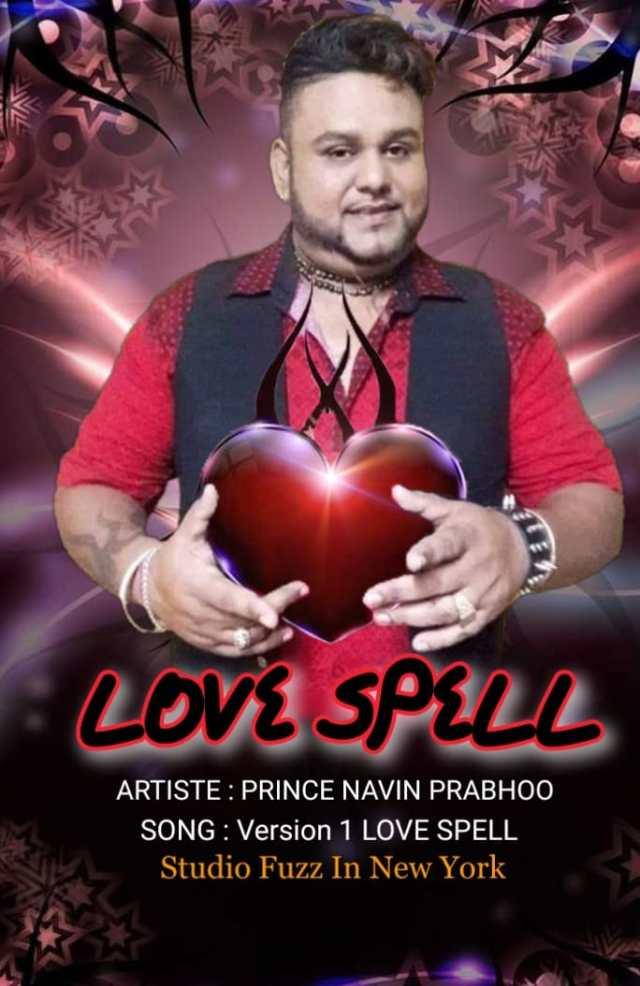 Prince Navin Prabhoo - Love Spell