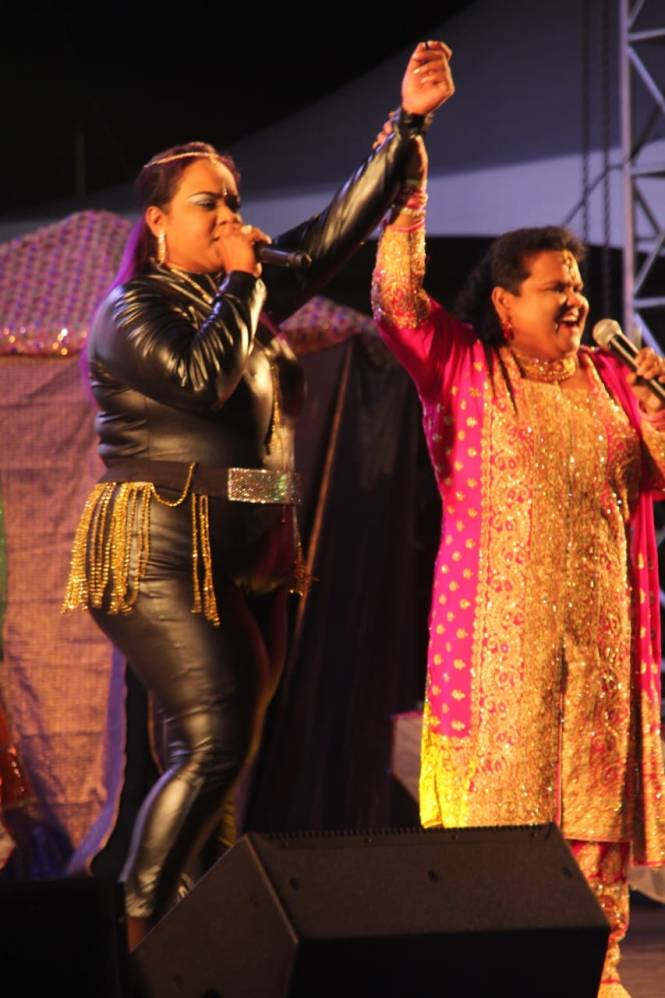 Queens Of Chutney Music Hemalata Dindial And Her Sister Rasika Dindial