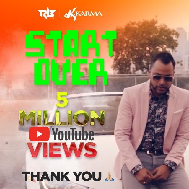 Ravi B Start Over 5 Million Youtube Views