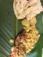 Sohari Leaf With Channa & Pumpkin