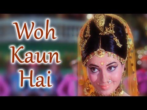 Woh Kaun Hai | Anjaana (1969) | Rajendra Kumar, Babita | Anand Bakshi Hits