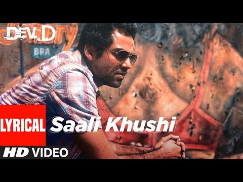 Saali Khushi Lyrical | Dev D | Abhay Deol, Kalki Koechlin | Amit Trivedi | T-Series