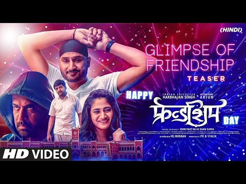 Glimpse of Friendship - Hindi | Harbhajan Singh, Arjun, Losliya, Sathish | D.M.UdhayaKumar