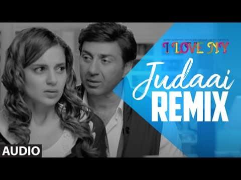 Full Audio: JUDAAI (Remix) | I Love New Year | Falak Shabbir | Sunny Deol, Kangana Ranaut