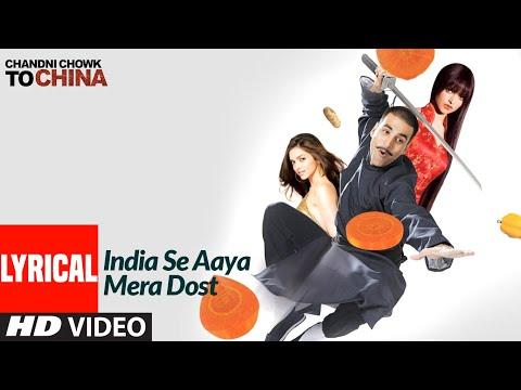 India Se Aaya Mera Dost Lyrical |Chandni Chowk To China |Akshay Kumar,Deepika Padukone |Bappi Lahiri
