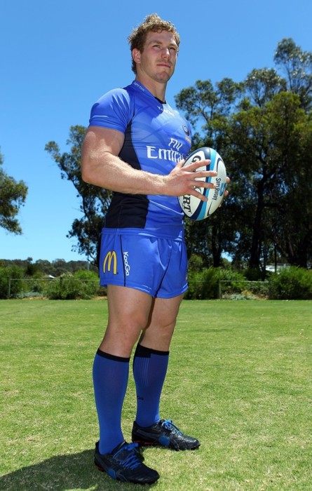 2012 Western Force Super Rugby Playing Kit Launch