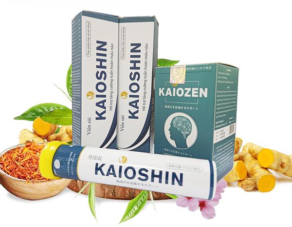 KAIOSHIN – Viên sủi thảo dược hỗ trợ điều trị rối loạn tiền đình số 1 Việt Nam