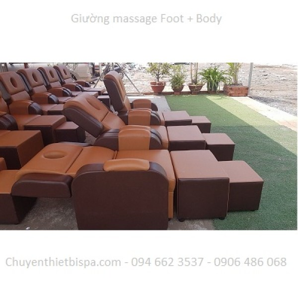 Ghế massage Foot và Body