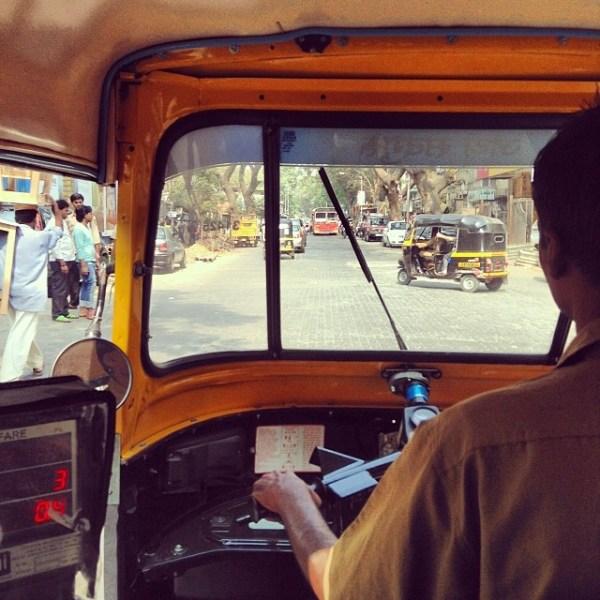 rickshaw ride in Mumbai