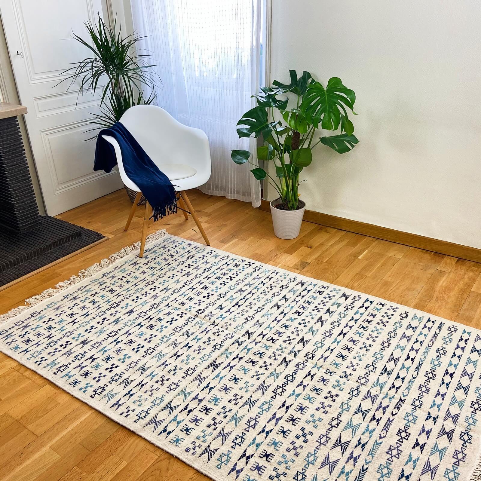 tapis kilim elkim 130x205 cm