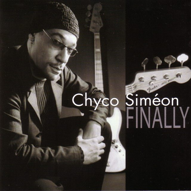 The cover of Chyco Simeon's first album Finally