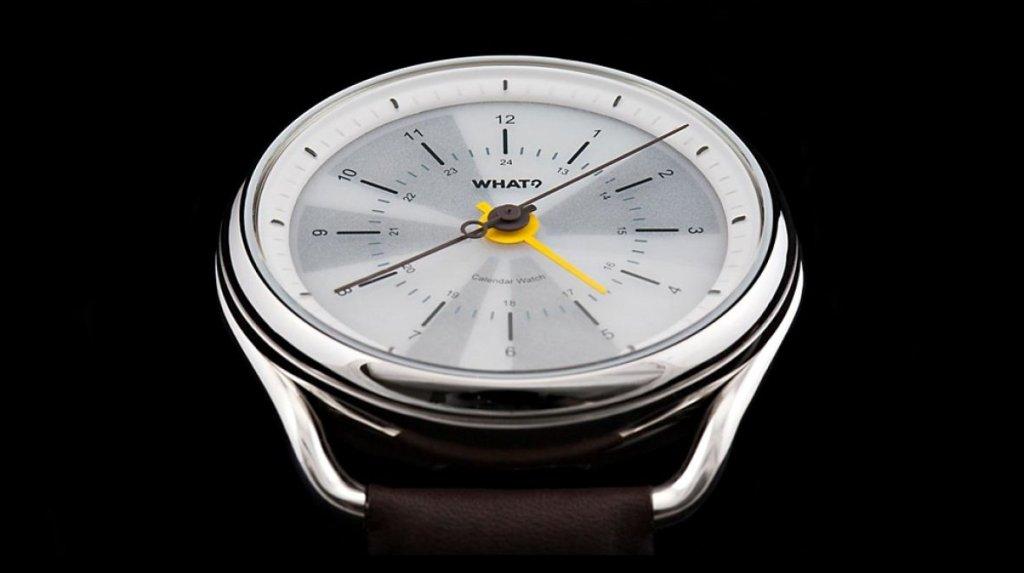 Stylové Calendar Watch překročily původní cíl na Kickstarteru