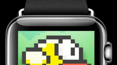 Flappy Bird na Apple Watch!
